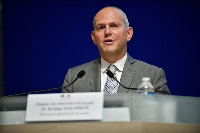Jérôme Salomon, N°2 du ministère français de la Santé