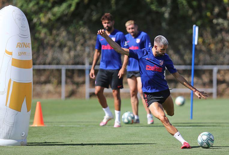 Yannick Carrasco maakt de voorbije weken indruk bij Atlético.