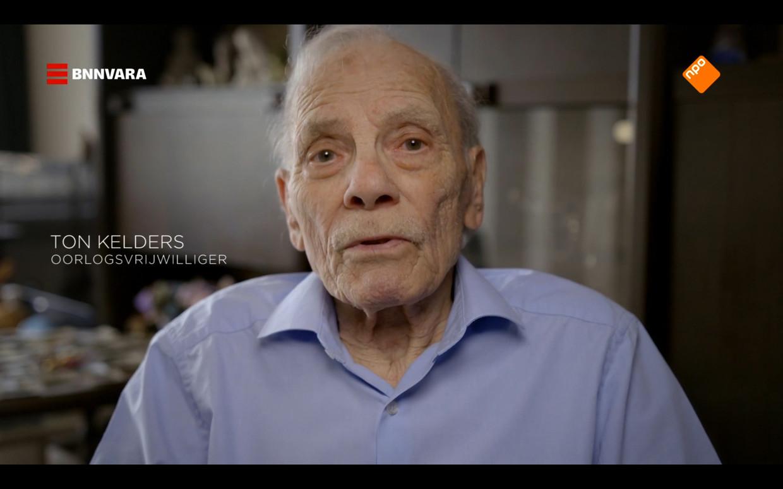 Oorlogsvrijwilliger Ton Kelders: 'De vijand kon iedere man, vrouw of kind zijn'. Beeld