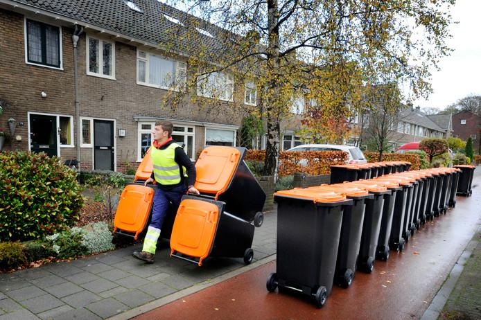 Verpakkingen, plastic en blik worden in Hengelo apart ingezameld.