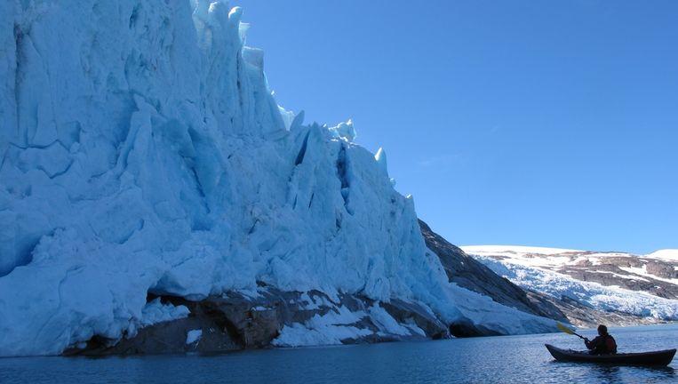 Het ijs komt uit het nationale park Saltfjellet-Svartisen. Beeld null