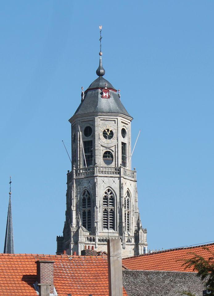 De Sint-Gummarustoren. Peter Vanham zou hier graag een spitse toren op zien.
