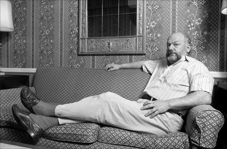 De op 25 januari overleden Joegoslavische filmmaker Dusan Makavejev, in 1985 in New York. Beeld Getty Images
