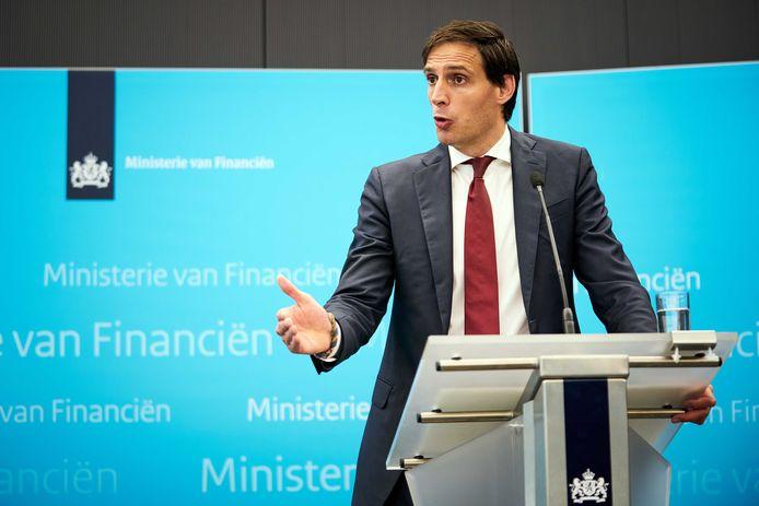 Minister Hoekstra van Financiën