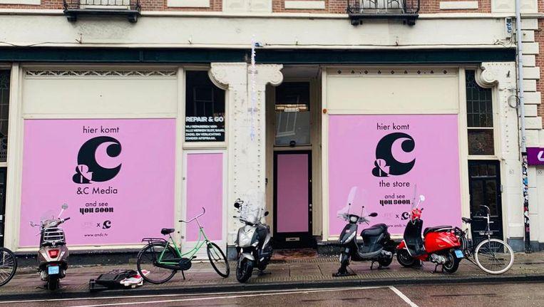 Wanneer &Coffee Corner en &C Store precies openen is nog onbekend. Beeld &C