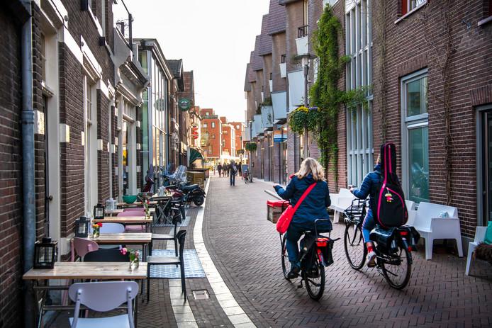 De Kapelstraat. Wel of geen fietsroute?