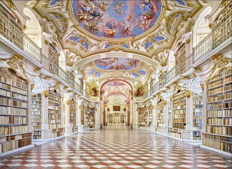 Stiftsbibliothek Admont, Oostenrijk