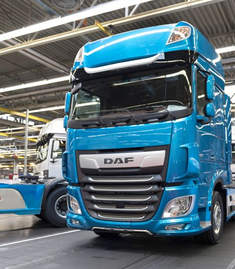 Productie DAF in Eindhoven stilgelegd tot zeker 20 april