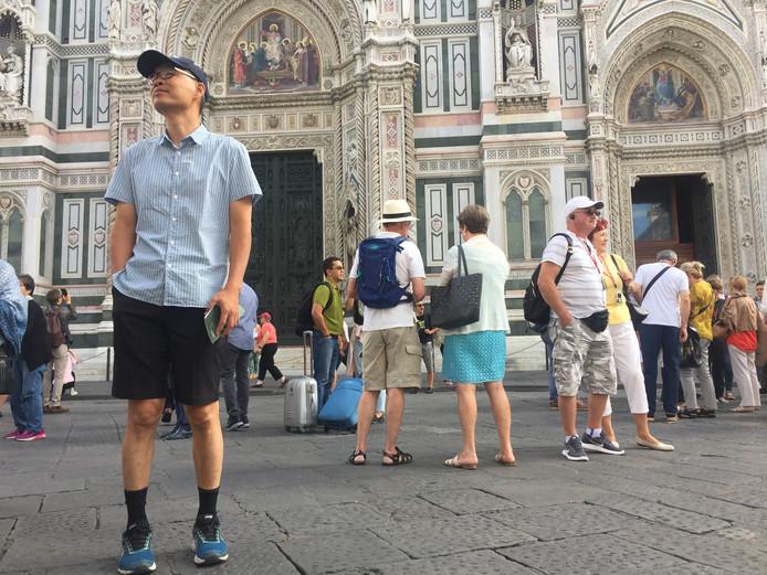 Toeristen in Florence