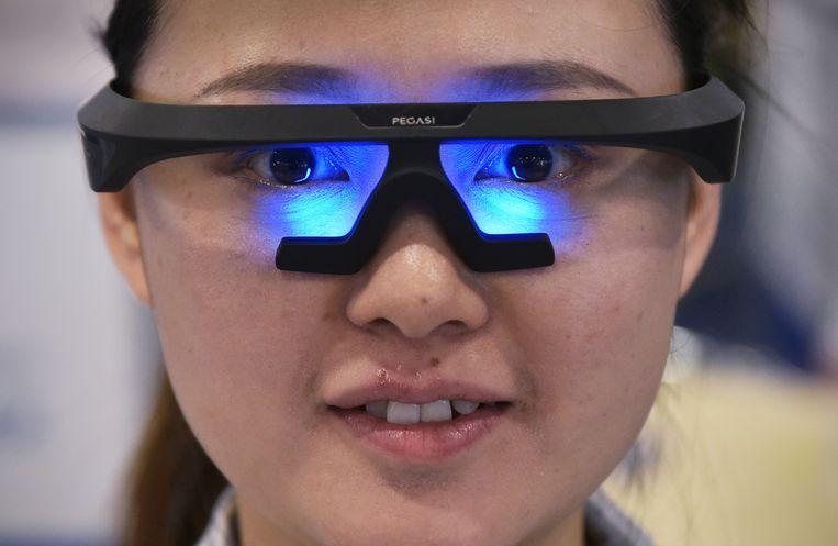 Met deze slimme bril van fabrikant Pegasi slaap je beter, althans zo beweren de makers.  De bril werd op de vorige CES gelanceerd.