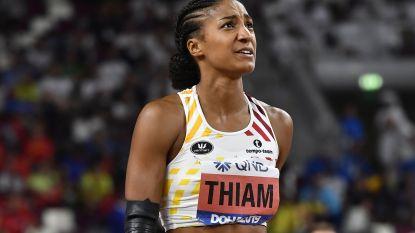 Thiam pas om vijf uur 's ochtends klaar met plichtplegingen, waaronder dopingcontrole