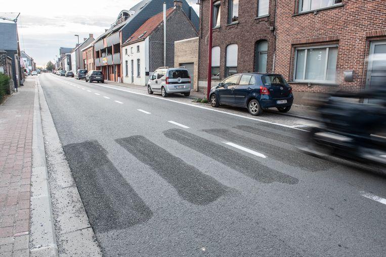 Het Agentschap Wegen en Verkeer haalde zonder medeweten van het gemeentebestuur van Zingem het zebrapad weg.