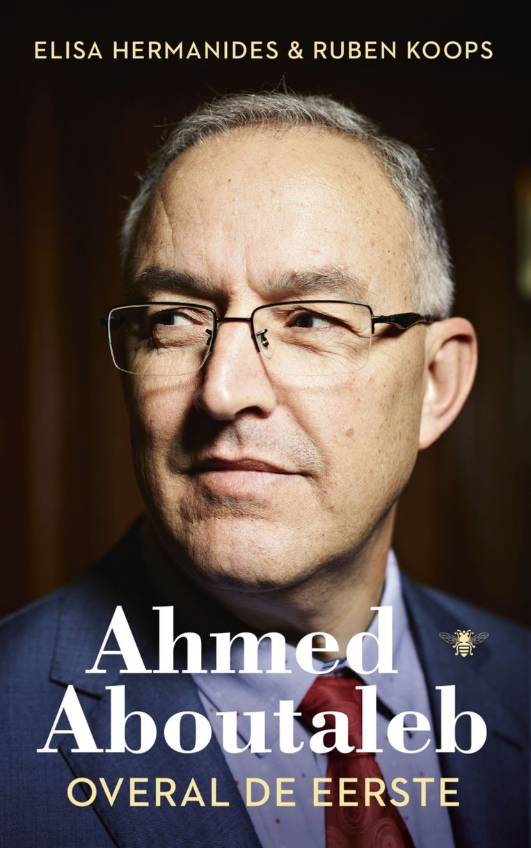 Omslag van Ahmed Aboutaleb, overal de eerste. Beeld