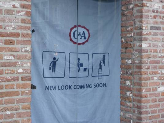 New look coming soon, zo kondigt C&A aan