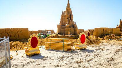 Zandsculpturenfestival wéér stukje groter