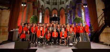 Olympische medaillewinnaars geridderd bij huldiging