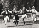 Gadoelka in het verleden, met (vlnr) oud-docent Paul Mulders, José van Esch, Jeroen van de Crommert en Hennie Joosten.