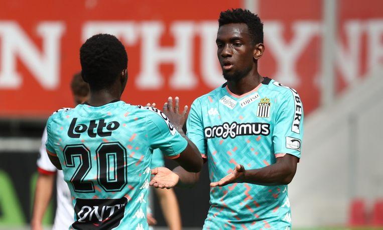 Frank Tsadjout scoorde voor Charleroi