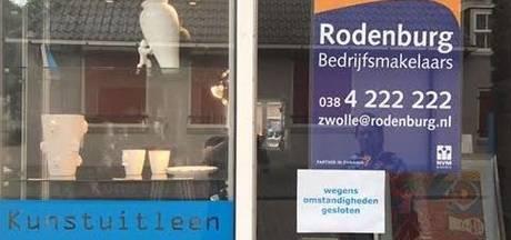 Kunstuitleen Zwolle werkt aan doorstart