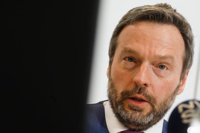Le gouverneur de la Banque nationale de Belgique (BNB), Pierre Wunsch.