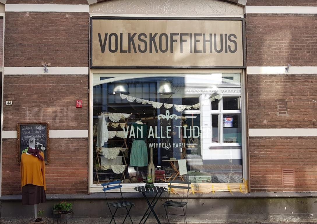 De winkel is nu nog gevestigd aan de Grotekerksbuurt.
