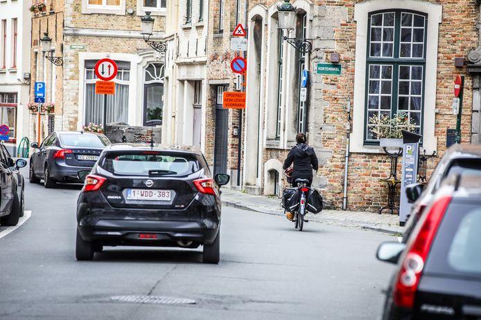 De Brugse meerderheid zit over de fietszone niet op dezelfde golflengte.