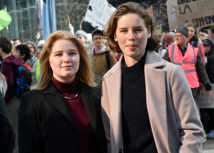 Kyra Gantois (g) et Anuna De Wever (d)