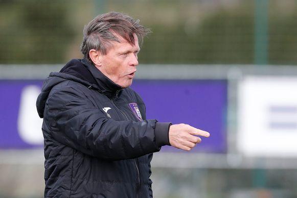 Frank Vercauteren volgde Simon Davies in oktober op bij Anderlecht.