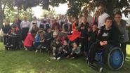 Kinderen Dominiek Savio volgen les 'chocolade maken' in Ter Groene Poorte