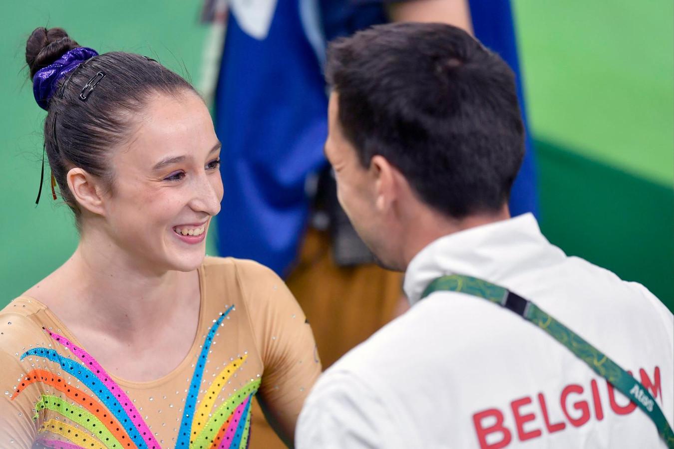 Nina Derwael est en finale olympique.