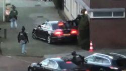 VIDEO. Hét moment dat politie schutter oppakt