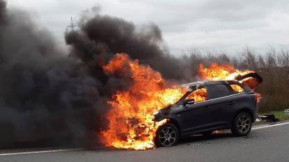 Na aanpassingen tijdens terugroepactie: Volvo XC60 brandt helemaal uit