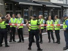Pakkertje spelen tijdens politie- en brandweeroefening in Den Bosch