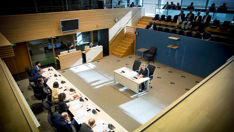 Een hoorzitting over de Turks-Nederlandse gemeenschap in Nederland. Beeld anp