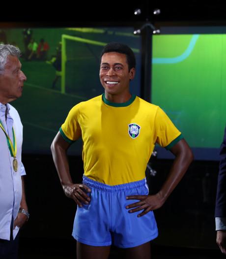 Brazilië herdenkt wereldtitel 1970 met standbeeld Pelé
