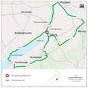 Elburgerbrug dicht? Dat betekent flink omrijden: via Harderwijk of Zwolle en Kampen. In beide gevallen een extra reistijd van zeker veertig minuten en een kleine vijftig kilometer.