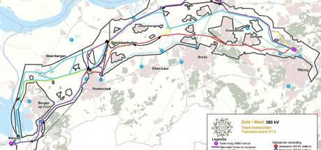 Beste oplossing: 380kV zuidelijk om Bergen op Zoom