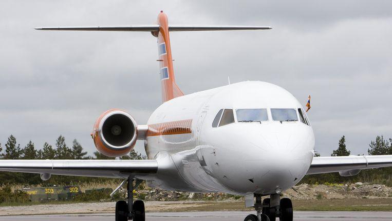 De KBX, het Nederlandse regeringsvliegtuig. Beeld anp