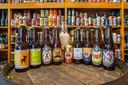 De Arnhemse biertjes op een rij.