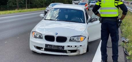 Na twee trucks nu een ongeluk met een auto: opnieuw forse file op A1 bij Deventer