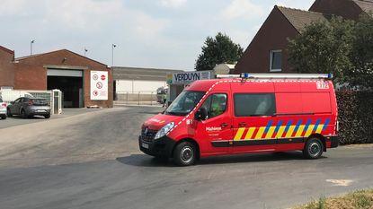 Vijftien medewerkers geëvacueerd bij dakbrand Verduyn