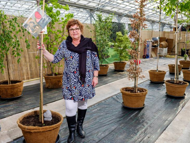 Overleden echtpaar na 30 jaar herenigd: 'Opa en oma zijn nu een kersenboom'