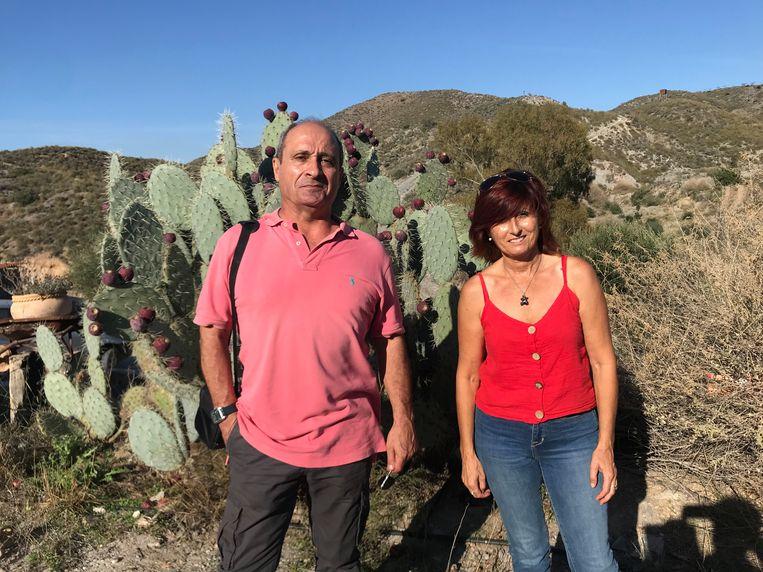 Juan Luis Castaneda en Pilar Sánchez van Acude Beeld Alex Tieleman