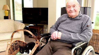 Adhemar op 106-jarige leeftijd zachtjes thuis in zijn slaap overleden