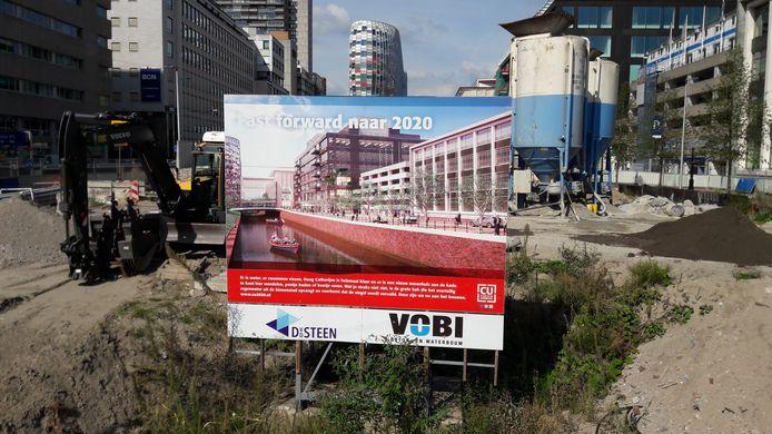 Singel werkt aan voltooiing Utrecht