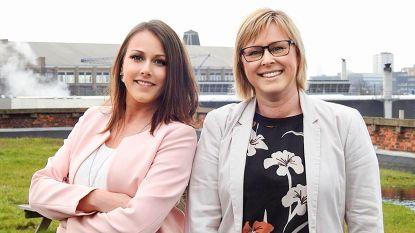 Ankie D'Hollander samen met haar werkgeefster  op N-VA-lijst voor Vlaams Parlement