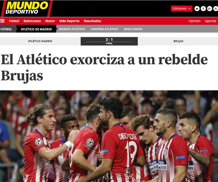 """Een """"rebels"""" Club, volgens El Mundo Deportivo."""