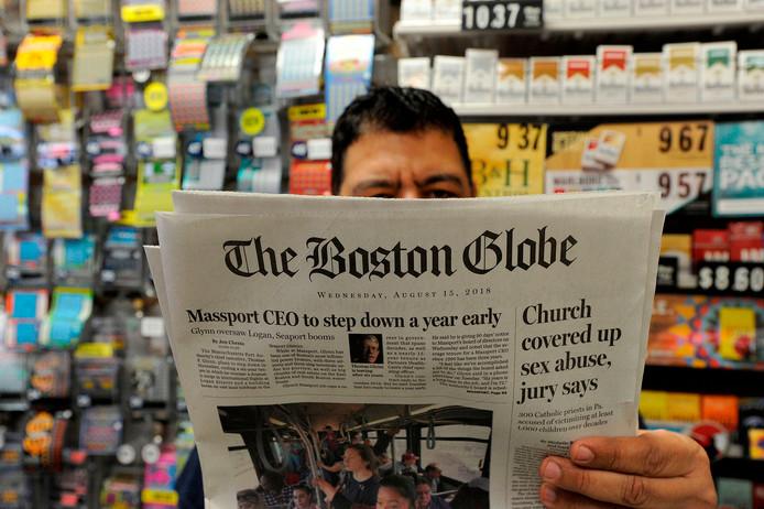 The Boston Globe nam het initiatief van de actie.