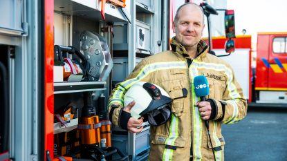 Brandweerman Stefaan (41) krijgt dag lang zijn eigen radiozender om hulpverleners te steunen
