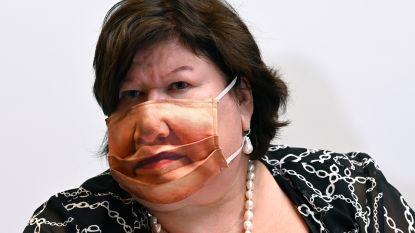 Mondmasker à la Maggie De Block? Dit zijn de grappigste van het moment